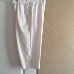 Crisp & Clean White Color Pants